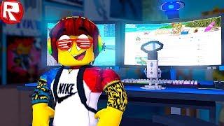 КАК Я НАБРАЛ МНОГО ПРОСМОТРОВ НА ЮТУБЕ в ROBLOX симулятор как мультик для детей в РОБЛОКС