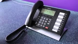 Toshiba Telephone System Call Transfer  - Telesis Tutorials