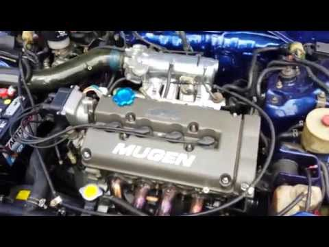 Honda CRX Si with Japanese Acura Engine