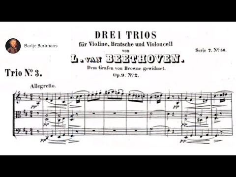 Beethoven - String Trio No. 3, Op. 9, No. 2