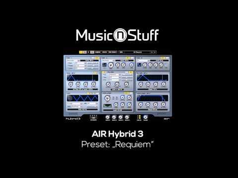"Music nStuff: AIR Hybrid 3 ""Requiem"""