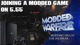 Playing a Modded Game on 5.55 while connected to PSN with XBSLink