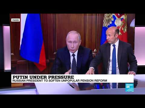 Putin backs down over pension reform: is it a sign of things to come?
