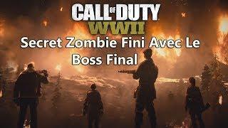 Call of Duty WWII Zombie Secret Fini Avec Le Boss Final ! Pas Facile Avec Des Zombies Énerver PC
