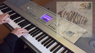 FinalClash - Monster (Piano Cover) - darkviktory feat. Paperblossom