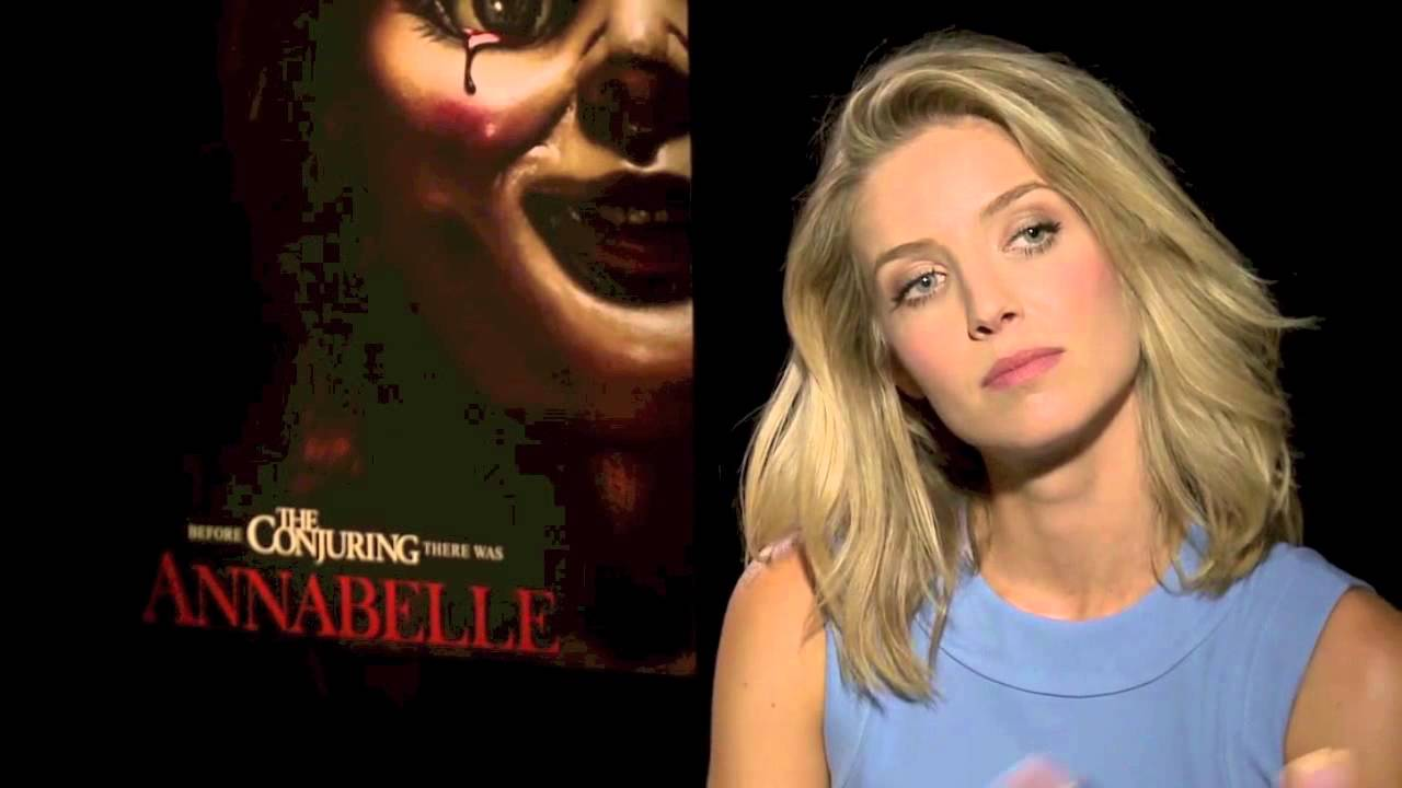 Annabelle 2014 Interview With Annabelle Wallis And Ward Horton Youtube