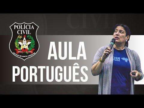 Concurso Polícia Civil/SC: Aula de Língua Portuguesa