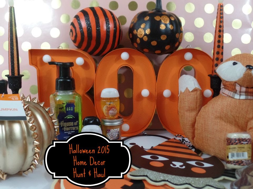 halloween 2015 target and bath body works haul hunt youtube