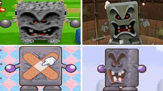Evolution of - Whomp Minigames in Mario Party