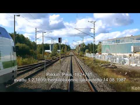 Rataosavideo Turku–Helsinki