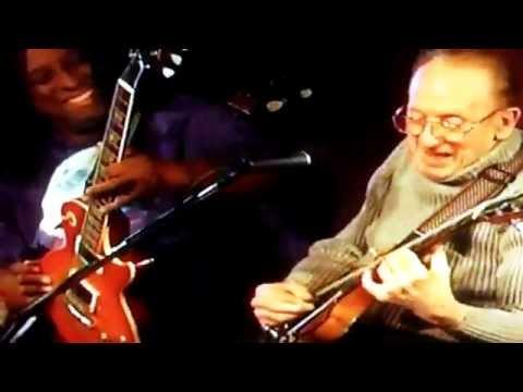 Les Paul with Hiram Bullock