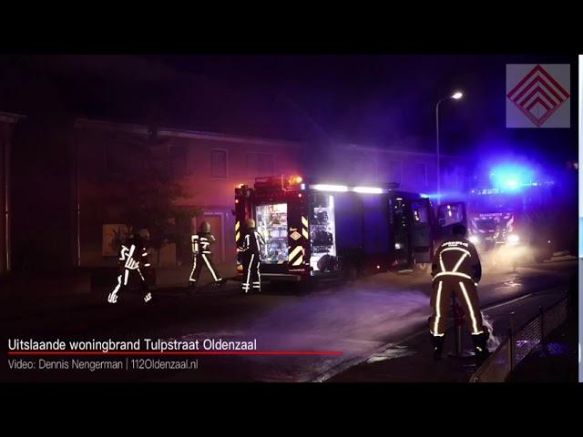 Uitslaande woningbrand in Oldenzaal