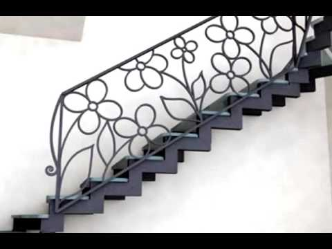 Перила 95  Лестница из металла под заказ в Днепропетровске фото металлическая лестница с коваными
