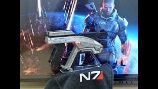 Mass Effect Spring Action Folding M3 Predator Replica