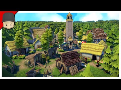 FOUNDATION - S2 Ep.01 : THE MEDIEVAL VILLAGE! CONTENT UPDATE 2!