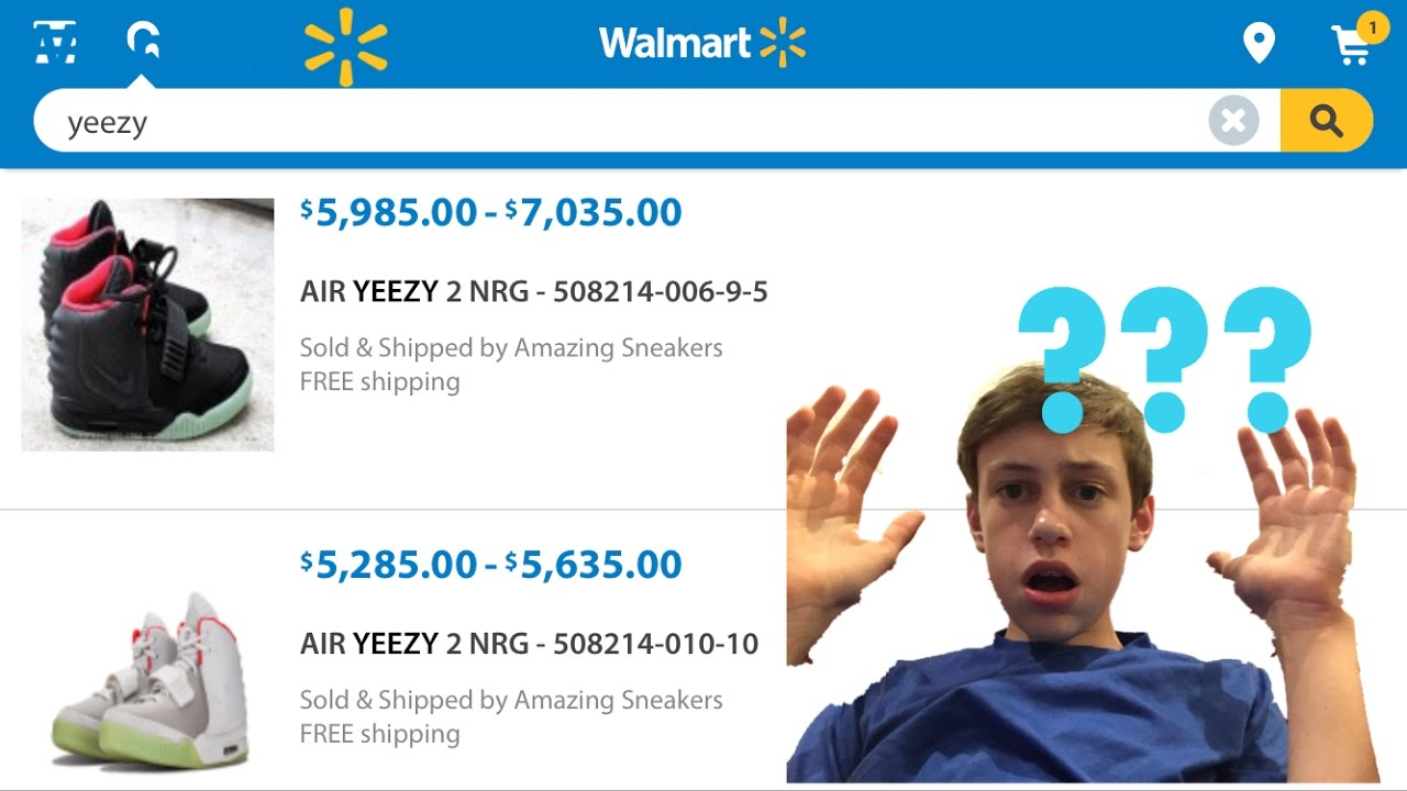 715a39a6bde YEEZY 2 PLATS FOUND AT WALMART!  NOT CLICKBAIT  THIS IS INSANE - YouTube