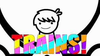 I LIKE TRAINS 1 Hr Remake (asdfmovie song)