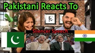 Silencer Speech On 5th Sept(3 Idiots)| English Subtitles LOL. pakistani reacts to silencer speech