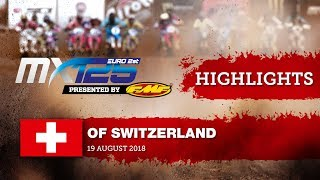 EMX125 Presented by FMF Racing Race1 Highlights - Round of Switzerland #motocross