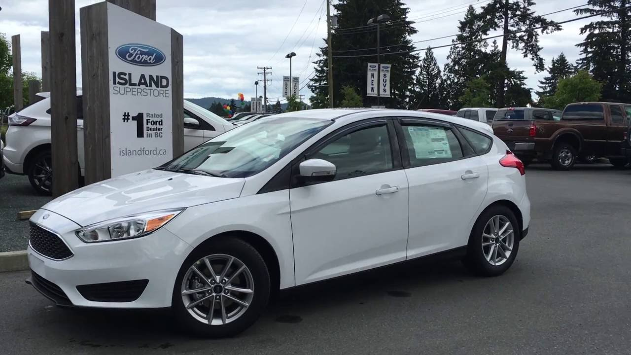 2016 ford focus se hatchback review island ford youtube