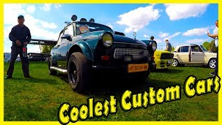 Coolest Custom Cars Shows 2019. Best German and American Custom Cars. Custom British Vehicles