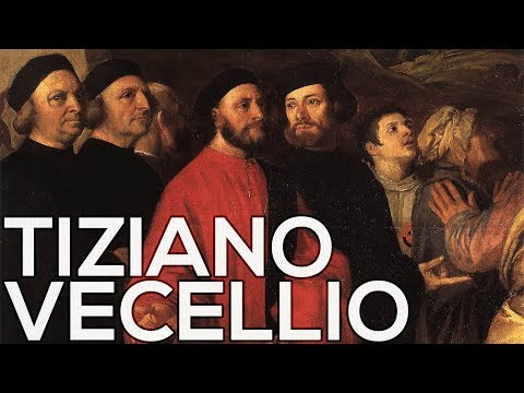 Tiziano Vecellio: A collection of 245 paintings (HD)