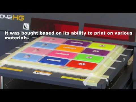 Graphix Supply World Install Mimaki UJF 3042HG
