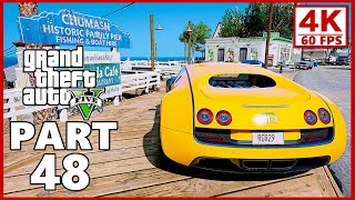 Grand Theft Auto 5 Gameplay Walkthrough Part 48 - GTA 5 (PC 4K 60FPS)
