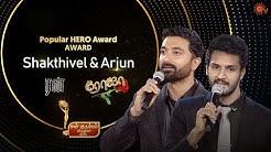 Popular Hero Award - Sibbu Suryan for Roja & Krishna for Run | Sun Kudumbam Virudhugal 2019 | Sun TV