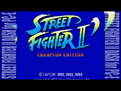 [FHD] STREET FIGHTER II DASH for PC-Engine [CAPCOM]