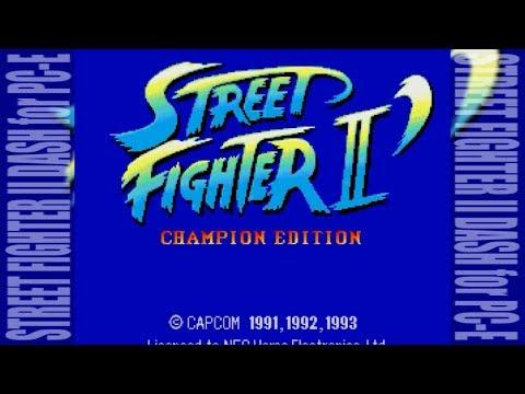[FHD] STREET FIGHTER II DASH for PC-Engine [CAPCOM]