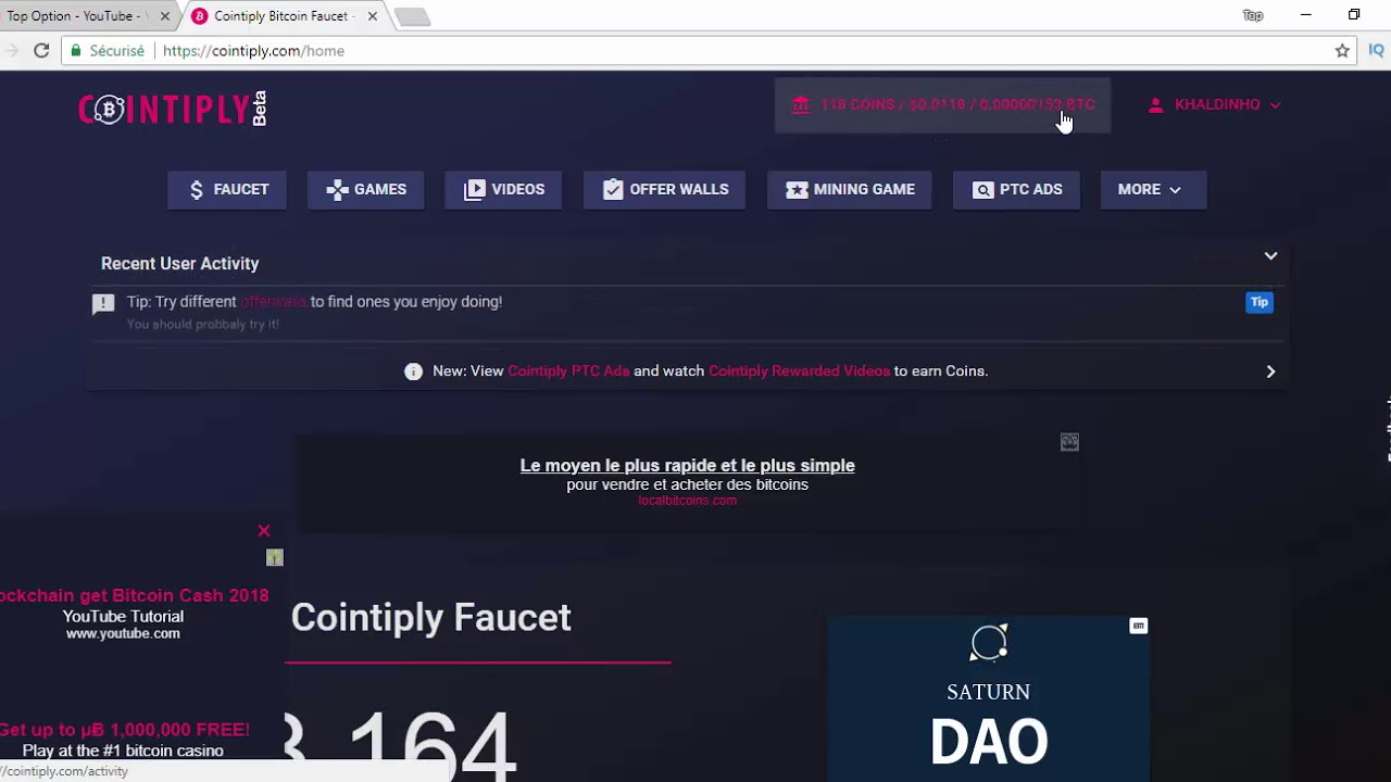 Cointiply Faucet | Highest paying bitcoin faucet & rewards