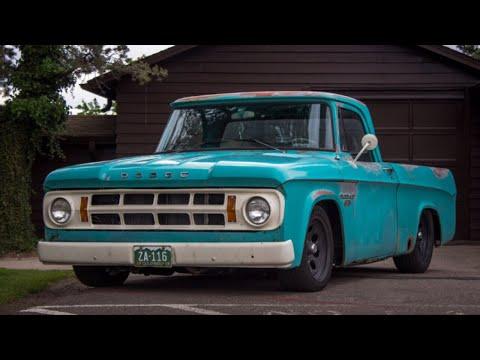 1968 Dodge D100 440 Sweptline Shortbed Slammed // 17in Wheels & Build Specs