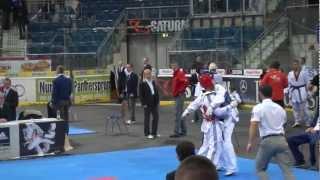 Deutsche Meisterschaft Taekwondo Runde 2