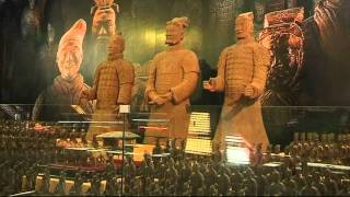 China recreates Terracotta Warriors out of chocolate