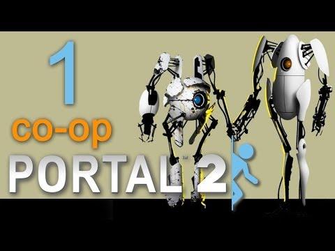Portal 2 co-op - Прохождение игры на русском - Кооператив [#1]