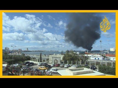 قوات حفتر تقصف ميناء طرابلس وخطة أوروبية تثير الجدل  - نشر قبل 2 ساعة