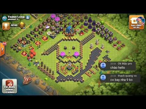 NMT   Clash of clans   Clan Nkokmt 2 ngh thut xp nh� troll - funny base