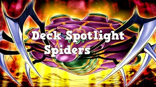Yugioh Deck Spotlight Spider Deck April 2014