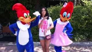 Diana Diez & Woody Woodpecker