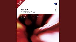 Górecki : Symphony No.3 Op.36,