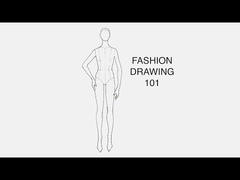 How To Draw A Twin Figures Mood Drawing A Fashion Design Lesson Preview Youtube