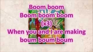 Mika-Boum boum boum- English lyrics