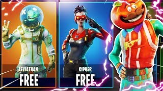 NEW LEVIATHAN SKIN JUST RELEASED GAMEPLAY!! FORTNITE BATTLE ROYALE WITH TEAM ALBOE!!