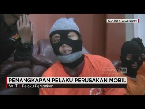 Pengakuan Pelaku Perusakan Mobil Pribadi di Bandung