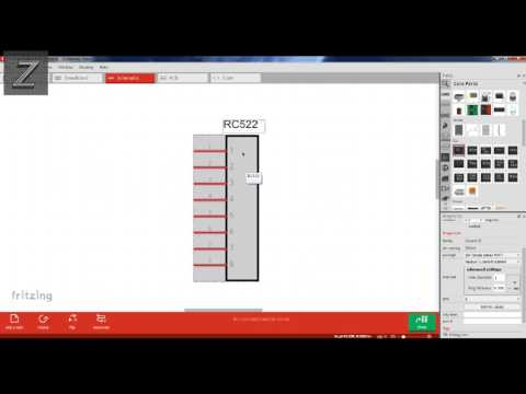How to make custom parts in Fritzing the quick and easy way - YouTube