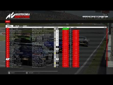Assetto Corsa Competizione first try._._.Wtf is this game? :-) |