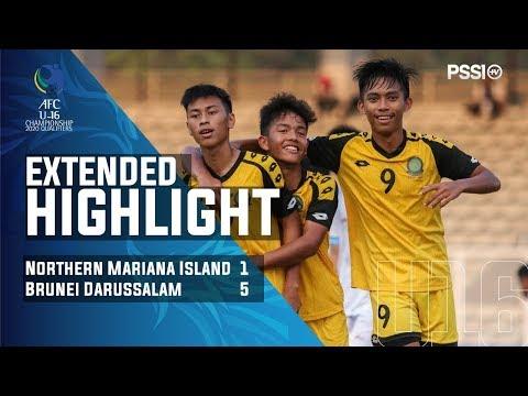 AFC U16 Championship 2020 Qualifiers: Northern Mariana Island 1-5 Brunei Darussalam