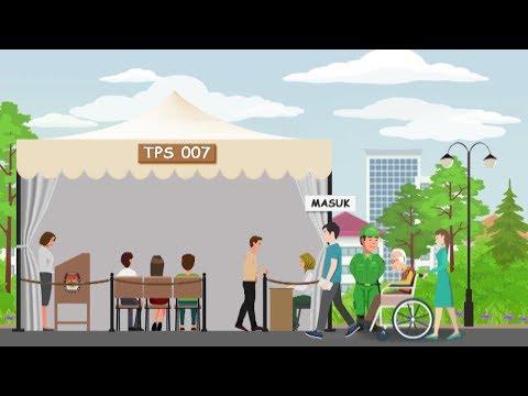 Video Panduan Mencoblos Pada Pemilu 2019 (Untuk Pemilih)
