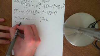 Limits in the Lp Metric Space Part 1